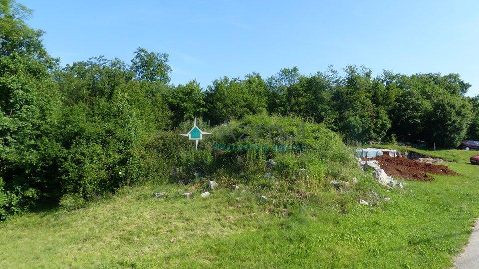 Građevinsko zemljište, 1365 m2, Brešca, Jurdani.