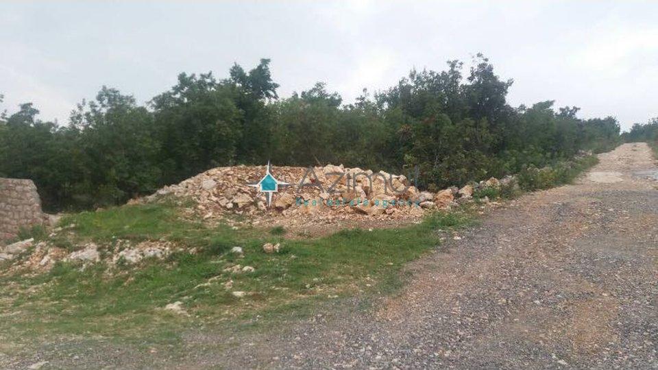 Novi Vinodolski, građevinsko zamljište, 1147 m2, POGLED NA MORE!!!