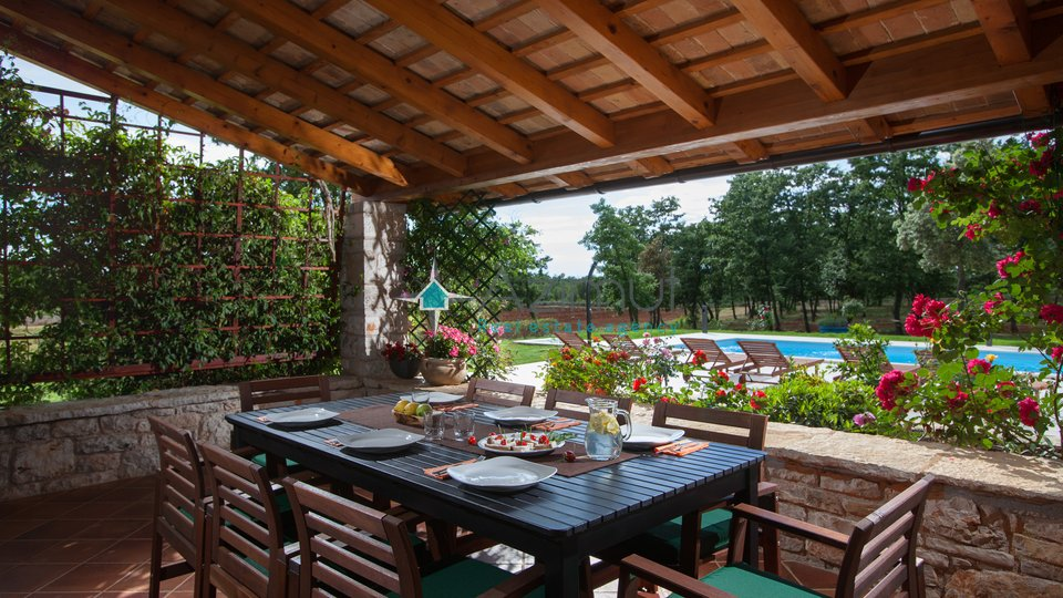 Istra, Bale, villa sa bazenom i ogromnim imanjem