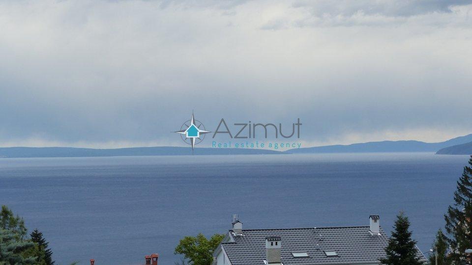 Pobri, zemljište, građevinski teren, 1100 m2, pogled na more