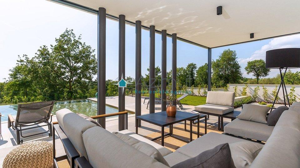 Istra, Poreč, dizajnerska vila s bazenom
