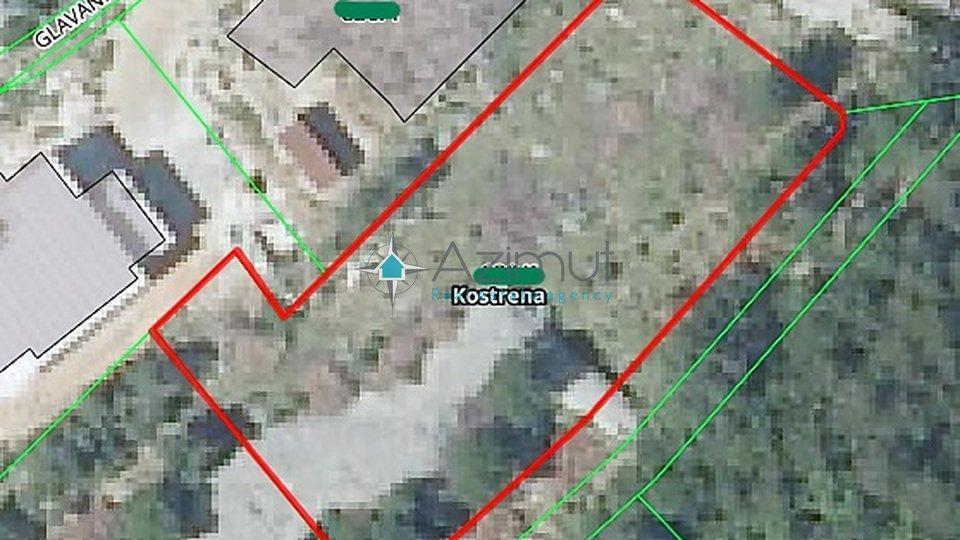 Zemljišče, 1240 m2, Prodaja, Kostrena