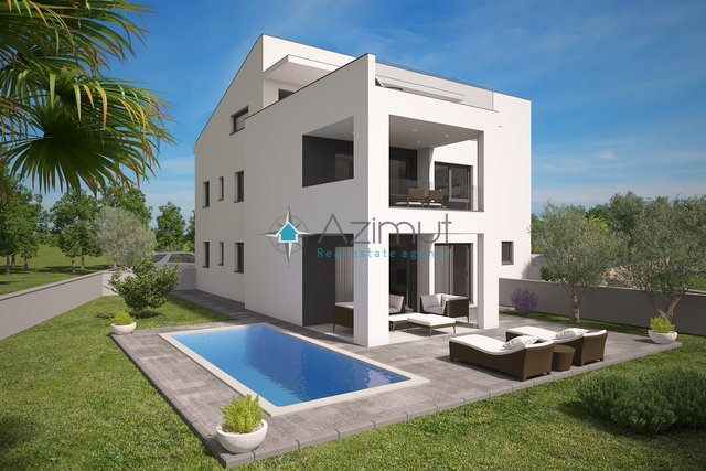 CITY OF KRK - MODERN NEW APARTMENT WITH ADDITIONAL RESIDENTIAL UNITS AND A GARDEN