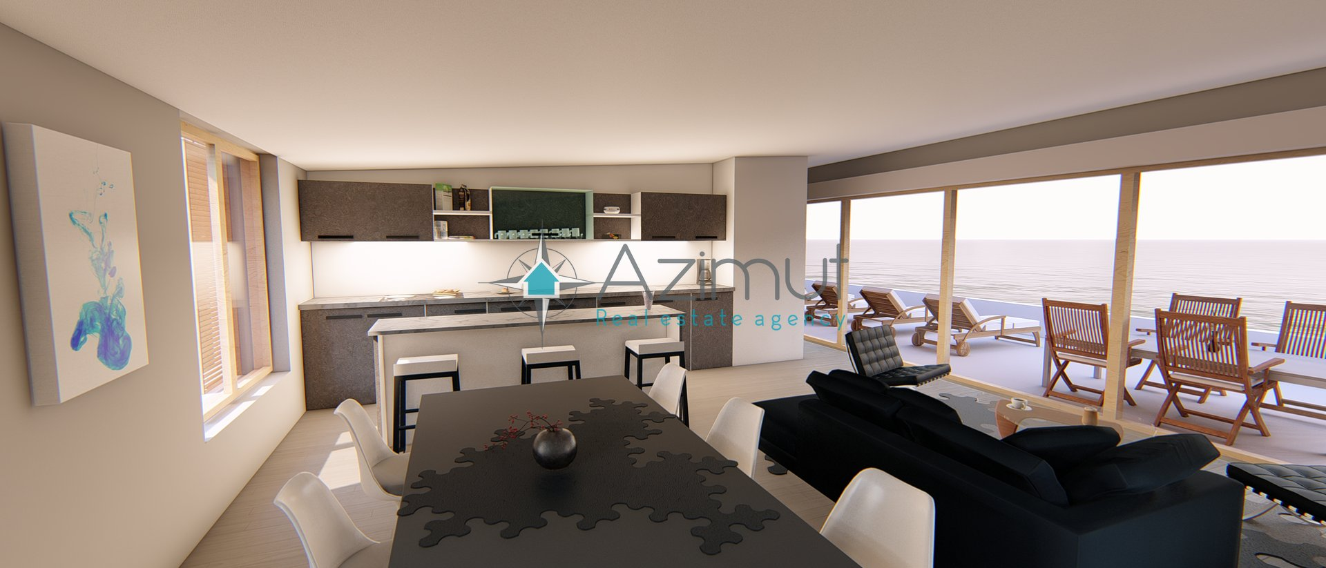 Stanovanje, 125,70 m2 , Penthouse, novogradnja