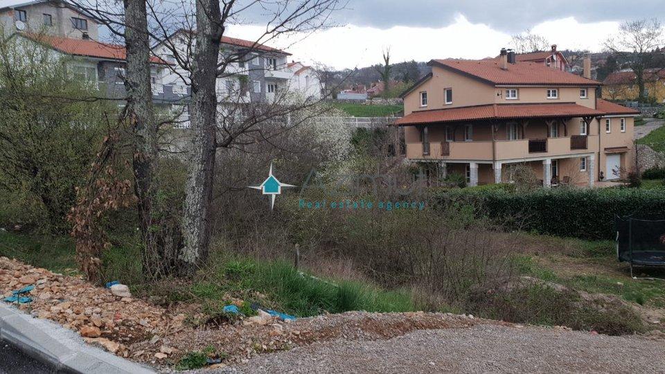 Viškovo - Kastav, građevinsko zemljište, 800 m2
