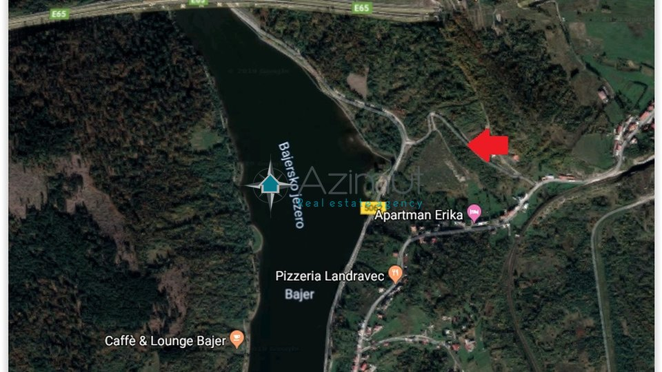 Land, 831 m2, For Sale, Fužine