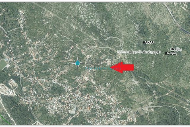 Land, 1125 m2, For Sale, Hreljin