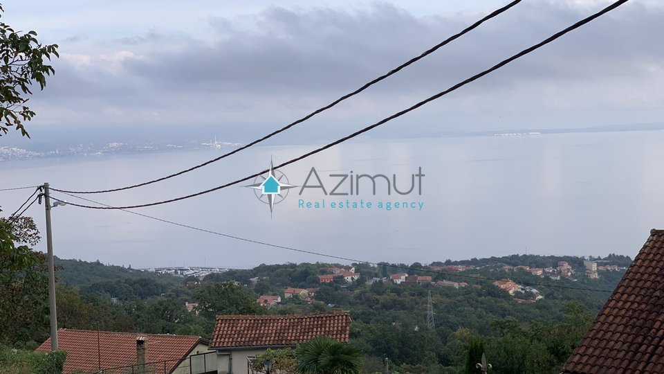 Poljane, građevinsko zemljište s panoramskim pogledom na more