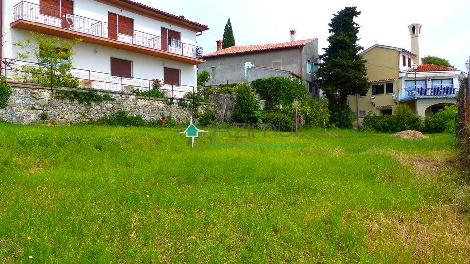 Mošćenička Draga, Mošćenice, građevinski teren 957 m2