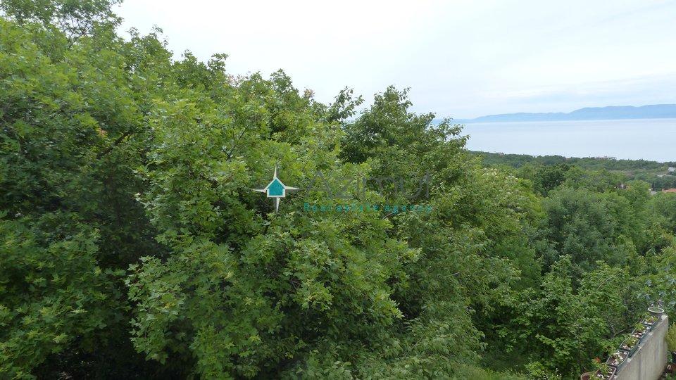 Rijeka, Kostrena, zemljište, 550 m2, pogled na more