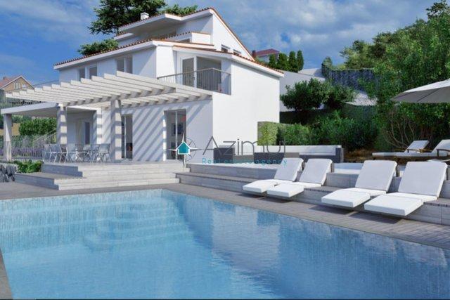Дом с видом на море Опатия