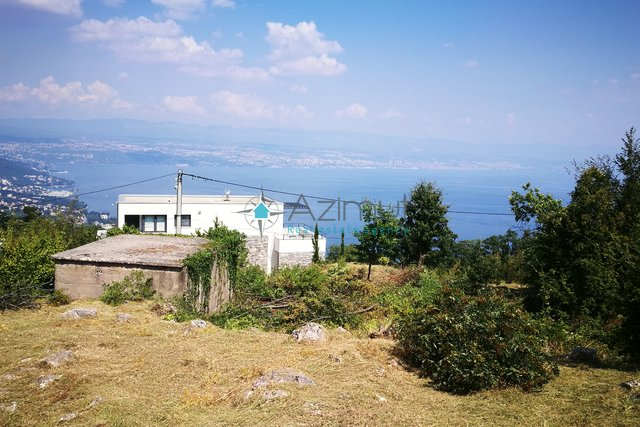 Land, 1392 m2, For Sale, Lovran - Tuliševica