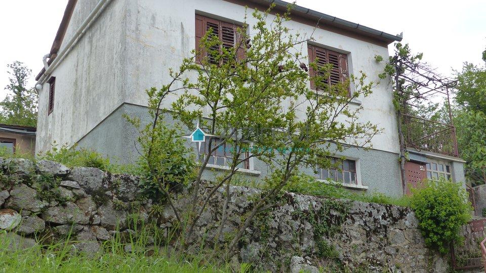 Bregi, kuća, 130 m2, velika okućnica