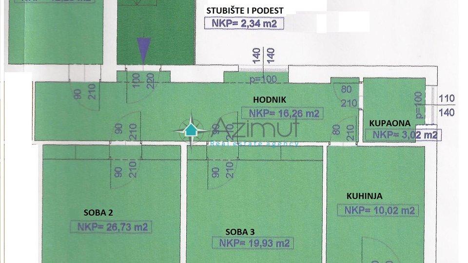 Opatija, stan, 3S + DB, 91 M2