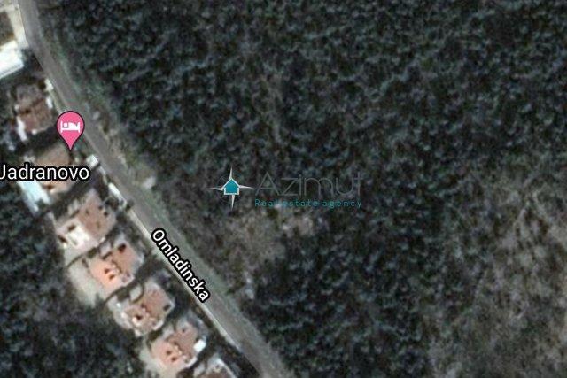 Jadranovo, građevinsko zemljište 5000m2
