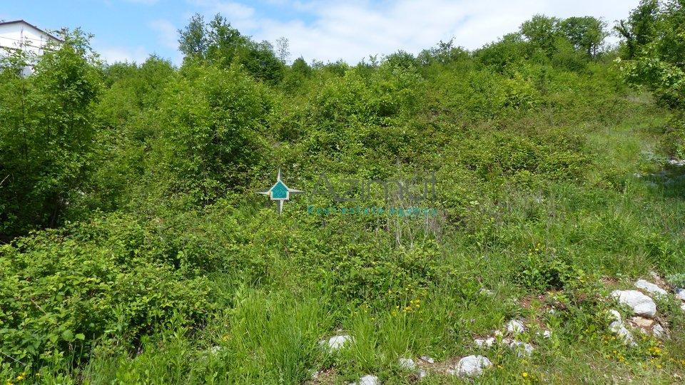 Kastav, Brnčići, građevinsko zemljište, 1050 m2
