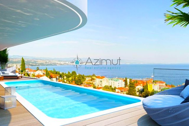Apartment, 183 m2, For Sale, Opatija